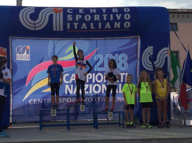 Lisa Stoico campionessa italiana di corsa su strada C.S.I.